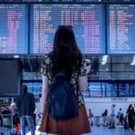 空港の少女